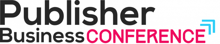 Publisher business conference logo 768x154
